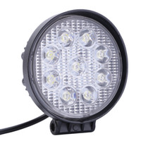 Wholesale spot lights for cars resale online - Shipping by DHL W Car LED Offroad Work Light Bar for Jeep x4 WD AWD SUV ATV Cart Driving Lamp Motorcycle Fog Light