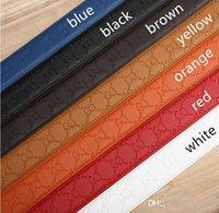 Wholesale new designer jeans for men - 2018 New Man Belts Famous Brand Genuine Leather Men Belt Designer Luxury High Quality Smooth Buckle Mens Belts For Women Jeans Cow Strap
