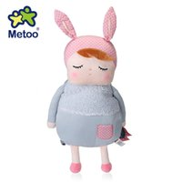 Wholesale Soft Plush Backpacks For Kids - Metoo New Arrival Cute Cartoon Bags Kids Doll Plush Soft Backpack Gift Toy Children Shoulder Bag for Kindergarten Girl