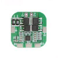 pil pcb toptan satış-4 S 20A 14.8 V 16.8 V Li-Ion Lityum 18650 Pil BMS PCM Koruma PCB Kurulu