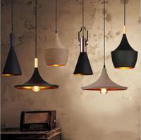 ingrosso luci dello strumento musicale-Inghilterra Battere strumento musicale Hanging Lampade a sospensione Ristorante bar illuminazione domestica ingegneria lampada a sospensione