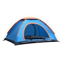 porte automatique ouverte achat en gros de-Tente de camping en plein air porte double Ultralight Tent 2 / 3-4 personne ouverture automatique à main rapide jetant CK101G imperméable à l'eau