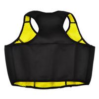 женские жилеты для похудения оптовых-2016 Neoprene Slimming Top Crset Yoga Sports Bra Female Vest Running Shorts Tight Shirts Women Gym Fitness