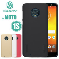 Wholesale original nillkin case for sale – best Original case hard black cover NILLKIN Super Frosted Shield case For Motorola Moto S quot PC cover phone case