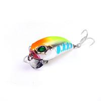 Wholesale mini crankbait lures resale online - 1PCS Crankbait Fishing Lures cm g Plastic Hard Crank Bait Artificial Fishing lure Mini Fishing Crankbait lure Y18100906