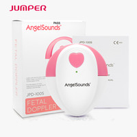 Wholesale fda pregnancy - Newest Package Jumper angelsounds Fetal Doppler Prenatal Heart Monitor Baby Heart Beat 3.0 Mhz Probe Baby Sound 100S for pregnancy