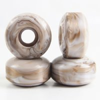Wholesale Pro Skateboards - Free Shihpping 4PCS Ice cream Pro Skateboard Wheels 102A 55D Jamaica 3 color Pro Wheels