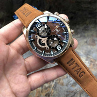 Wholesale 2018 High quality AAA men s watch TAG Automatic Movement Luxury brand Mechanical watches Stainless Steel Men sports Wristwatches