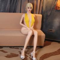 poupée en silicone homme jouets adultes achat en gros de-Moderne 3D 165 cm Réel Silicone Sex Poupées Adulte Japonais Poupée D'amour Mini Vagin Réaliste Anime Réaliste Sexy Jouets Pour Hommes Gros Seins