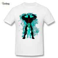 diseño gráfico clásico al por mayor-Camisetas de anime japonesas clásicas con estampado gráfico Camisetas de diseña con cuello redondo de My Hero academia