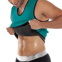 15edf3740f7d8 man body slim belt Canada - Slimming Belt Belly Men Slimming Vest Body  Shaper Neoprene Abdomen