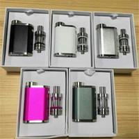 ingrosso mod mini box-Pico Starter Kit 9 colori con TC 75W Melo 3 Mini serbatoi Atomizzatore Controllo del flusso d'aria invisibile Scatola di vaporizzazione Kit penna vaporizzatore Mod