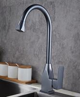 ingrosso bacino moderno del rubinetto del bagno-Rubinetto verticale caldo e freddo doppio controllo lavabo lavello alto rubinetto moderno cucina bagno multi colore