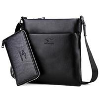 ingrosso cuoio del sacchetto del canguro-2017 nuovo arrivo di alta qualità in pelle Kangaroo messenger bag di marca sacchetto di spalla di modo borse crossbody per uomo