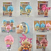 Wholesale Action Hands - Funko pop Action Figure 5 styles Around Dragon Ball Action Figure Vegeta Sun Wukong Super Saiyan hand model