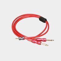 Wholesale av card player for sale - Group buy AV gold plated mm to mm audio cable Y type cable splitter for computer sound card CD player and other equipment