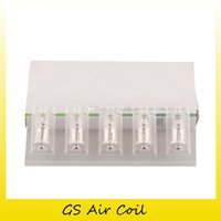 Wholesale gs head - 100% Original GS Air Coil Head 0.15ohm 0.75ohm 1.2ohm 1.5ohm Replacement Coils for GS Air 2 Atomizer Authentic