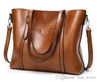Wholesale fur leopard print handbag - New Brand Bag Women Famous Designer Shoulder Bag Leather 6 Handbags Tote Womens Bags