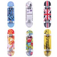 Wholesale skateboard decks online - 4 wheels maple longboard customized blank deck Brand Boling Maple Skateboard Sports Equipment Intermediate Skateboard