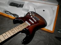 Wholesale electric guitars prices online - Price High quality New style Stratocaster electric guitar Vintage Sunburst Electric Guitar in stock