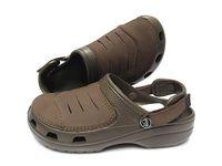 продажа плоских туфель оптовых-Оптовая и розничная торговля, отверстие обувь новые летние женщины / мужчины классические кожаные плоские туфли, Ева сандалии, шлепанцы, тапочки, crocband пляжная обувь