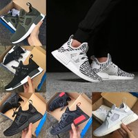 Wholesale Olive Cotton - Wholesale 2018 XR1 III Running Shoes men women Mastermind Japan Skull Fall Olive green Camo Glitch Black White Blue Pack sports shoes 36-44