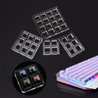 Wholesale 4x4 switch resale online - 2018 Pc Acrylic Switch Tester Base X2 X3 X3 X4 for Cherry MX Switches keycaps New Arrivals