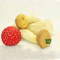 Wholesale mushroom sports for sale - Tricky Toys Flammulina Velutipes Fungus Squeeze Squishies Adult Fun Venting Decompression Toy Originality Relief Stress Mushroom zx W