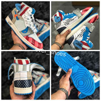 8fd98085f022cd Wholesale off white shoes online - 2018 Newest Off Parra custom basketball  shoes For women Men