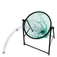 látigo de pelota al por mayor-Envío gratis Golf Cut Rod Drill Whip Ball práctica Net Cut Rod Training Portable Design