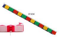 forme cube 3d achat en gros de-32cm Mini Cube Magique Nouveau Chaud Serpent Forme Jouet Jeu 3D Cube Puzzle Twist Puzzle Jouet Cadeau Aléatoire Intelligence Jouets Supertop Cadeaux