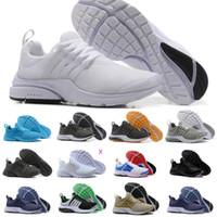 ingrosso vendita di scarpe oreo-2019 Nike Air Max Presto Shoes Air Prestos Donna Scarpe da corsa Cuscino d'aria Prestos Ultra BR QS Tp Giallo Rosa Nero Oreo Sport Fashion Fly Jogging Sneakers
