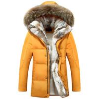 Wholesale warmest winter men winter coats military white