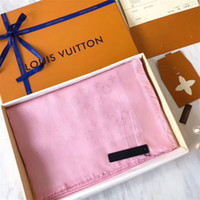 Wholesale triangle scarves for women - Women's triangle shawl, suitable for soft scarves and fashionable luxury yarn-dyed wool scarf accessories brand box