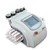 tri cuerpo al por mayor-2018 ¡¡¡Lo más nuevo !!! Eliminación de la celulitis Tripolar RF Cavitación Cuerpo que adelgaza la máquina