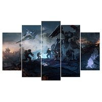 Wholesale set wall art panels online - 5 Set Framed Modern Abstract Wall Art Painting Super Hero Handpainted Painting High Quality Canvas Home Wall Decor Multi Sizes l33