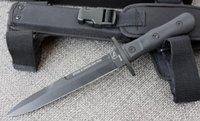 kizarma sabit bıçak av bıçakları toptan satış-ÜCRETSIZ NAKLIYE EXTREMA ORAN 12''New ABS Kolu 6 MM Bıçak Hançer Survival Bowie Avcılık Bıçak VTH77
