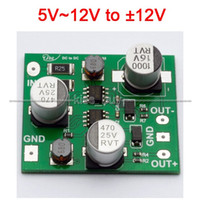 Wholesale power dvd camera resale online - Freeshipping Negative Voltage Dual DC12V V Power Supply Module V to V For Amplifier