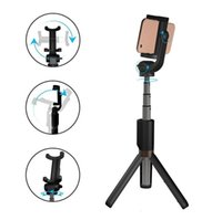 tripé vara venda por atacado-Selfie tripé bluetooth extensível vara com controle remoto sem fio e monopé suporte para samsung huawei xiaomi iphone xs xr xsmax