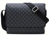 bolsas cruzadas hombres al por mayor-2019 nuevos bolsos de mensajero de los hombres de la moda clásica cruzan la mochila escolar 41213 con bolsa para el polvo