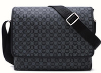 cm klasik toptan satış-2019 yeni Klasik moda erkekler messenger çanta çapraz vücut çanta okul bookbag 41213 toz torbası ile gerekir