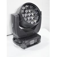 mix de zoom venda por atacado-Alta qualidade 19 * 12 W 4em1 Led Moving Head Zoom Luz OSRAM RGBW LED 4IN1 Mistura de Cor Zoom Ajustar 6-50 Graus DMX