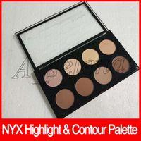 Wholesale contour palettes for sale - Group buy NYX Highlight Contour Pro Palette Concealer Powder Shadow Foundation Face Palette Full Size colors shadow makeup dhl free