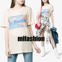 Wholesale freedom t shirts - Summer 2018 Luxury Europe Italy elton John Mr freedom Tshirt Fashion Men Women T Shirt Casual Cotton Tee Top