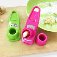 ingrosso cuochi accessori utensili-Utile Multifunzione Ginger Aglio Press Grinding Grater Planer Slicer Mini Cutter Cooking Gadgets Tools Kitchen Accessories