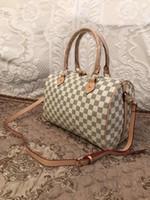 künstliche weibliche großhandel-2018 marke handtasche frauen große eimer umhängetasche weibliche hochwertige kunstleder einkaufstasche mode top-griff tasche