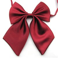 Wholesale Hotels Bank - Solid collar flower women's career suits female students Bank Hotel women Bow Tie D-21