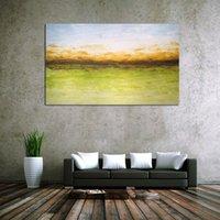 güzel soyut yağlı boya tabloları toptan satış-Yüksek Kalite Güzel Soyut Yağlıboyalar Tuval Üzerine 100% el boyalı resim sergisi Tuval Yağlıboya çerçevesiz