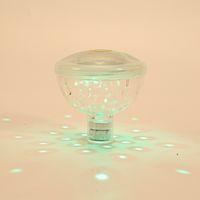 luces impermeables de baño al por mayor-Colorido Impermeable Baño de natación Luces flotantes Submarino Mini LED Disco Glow Show Piscina Decoración Linterna Nuevo 14gj ZZ