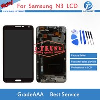 Wholesale Note3 Screen - TFT LCD for Samsung Galaxy Note3 900(3G) N9005(4G) 900A(US)Brand New LCD Display Touch Screen Digitizer Free repaire tools+Free Shipping